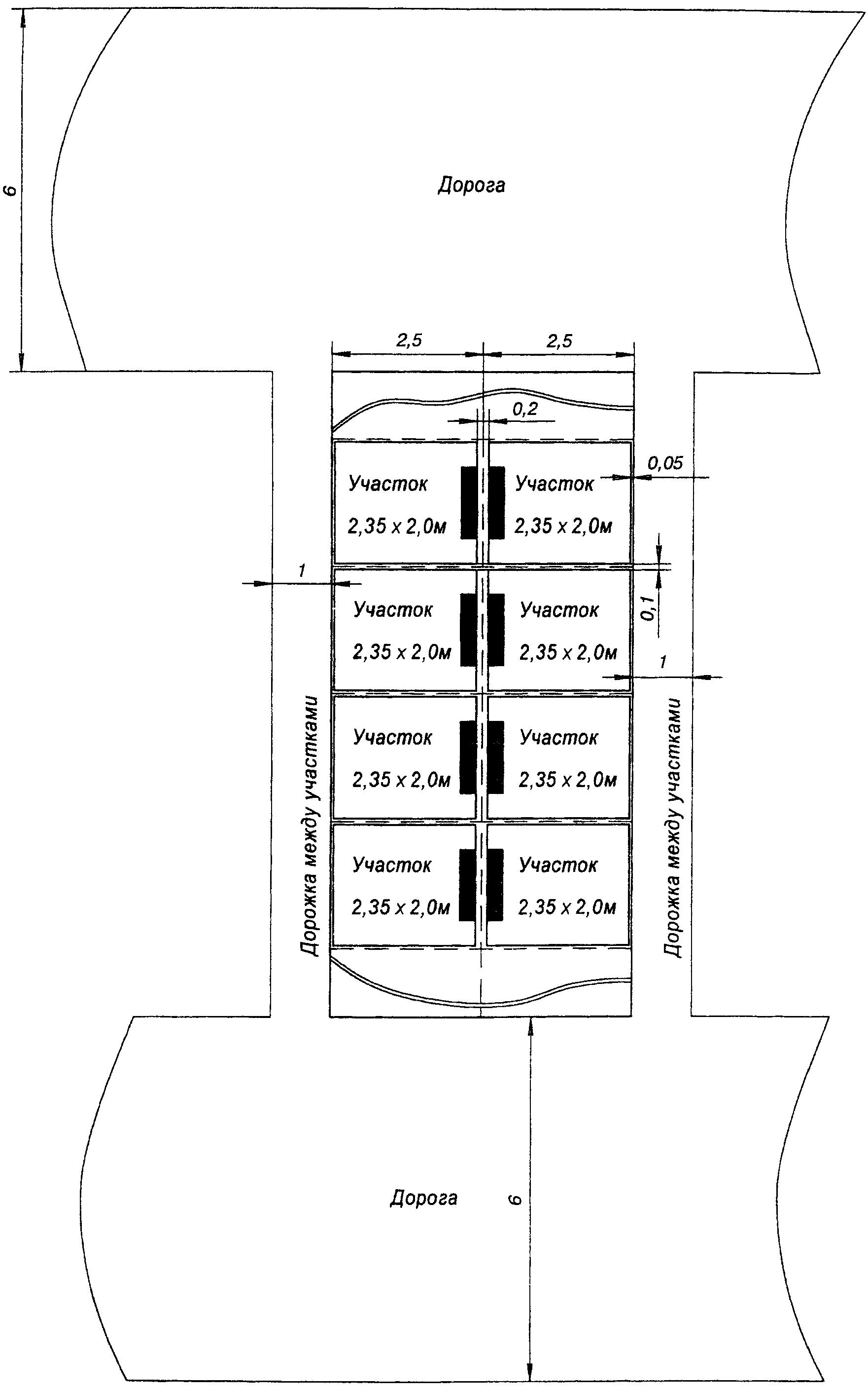 схема ливнестоков на рельеф