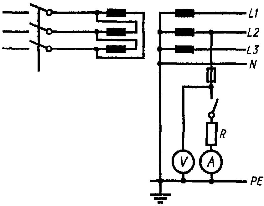 Схема измерения по методу 1