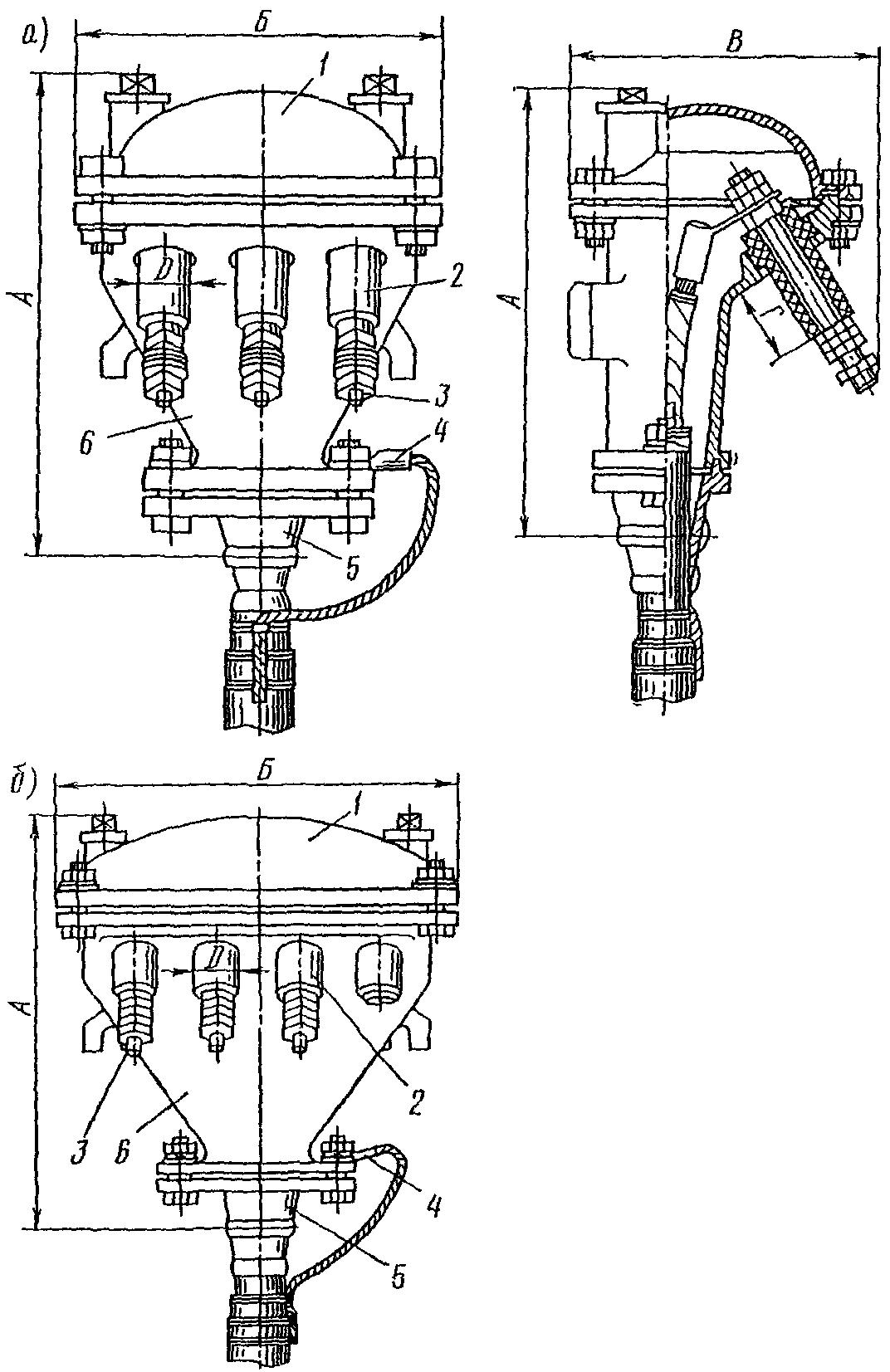 схема подключения мачтового светофора на посту эц