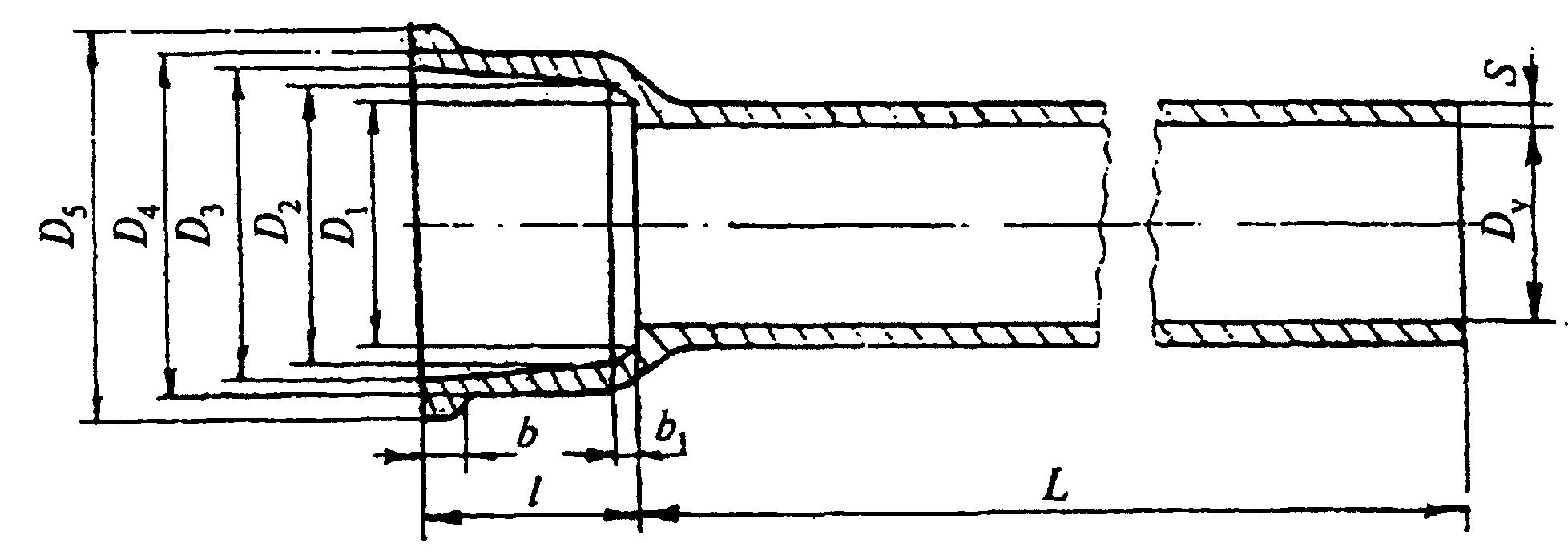 Фасонные чугунные соединительные части к чугунным напорным трубам наружным диаметром 50 100 мм