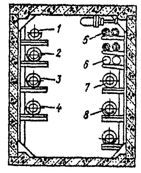 Схемы совмещенной прокладки