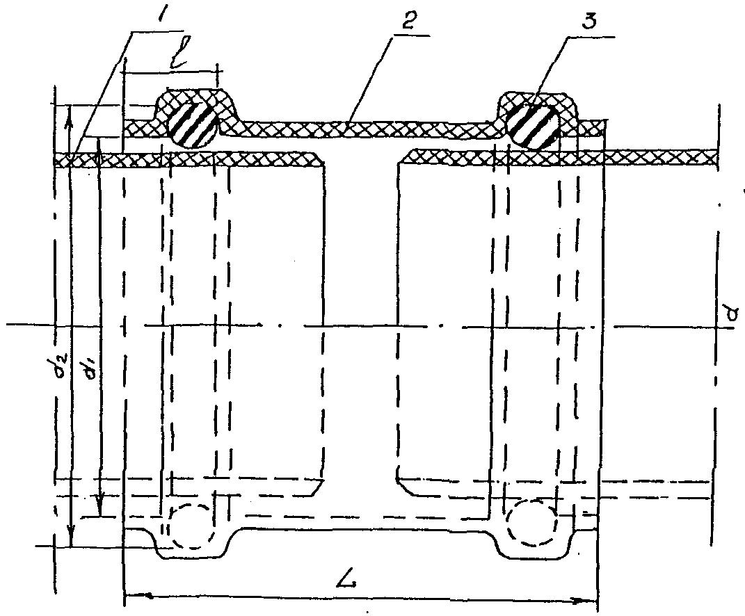 Снип пластиковый напорный трубопровод