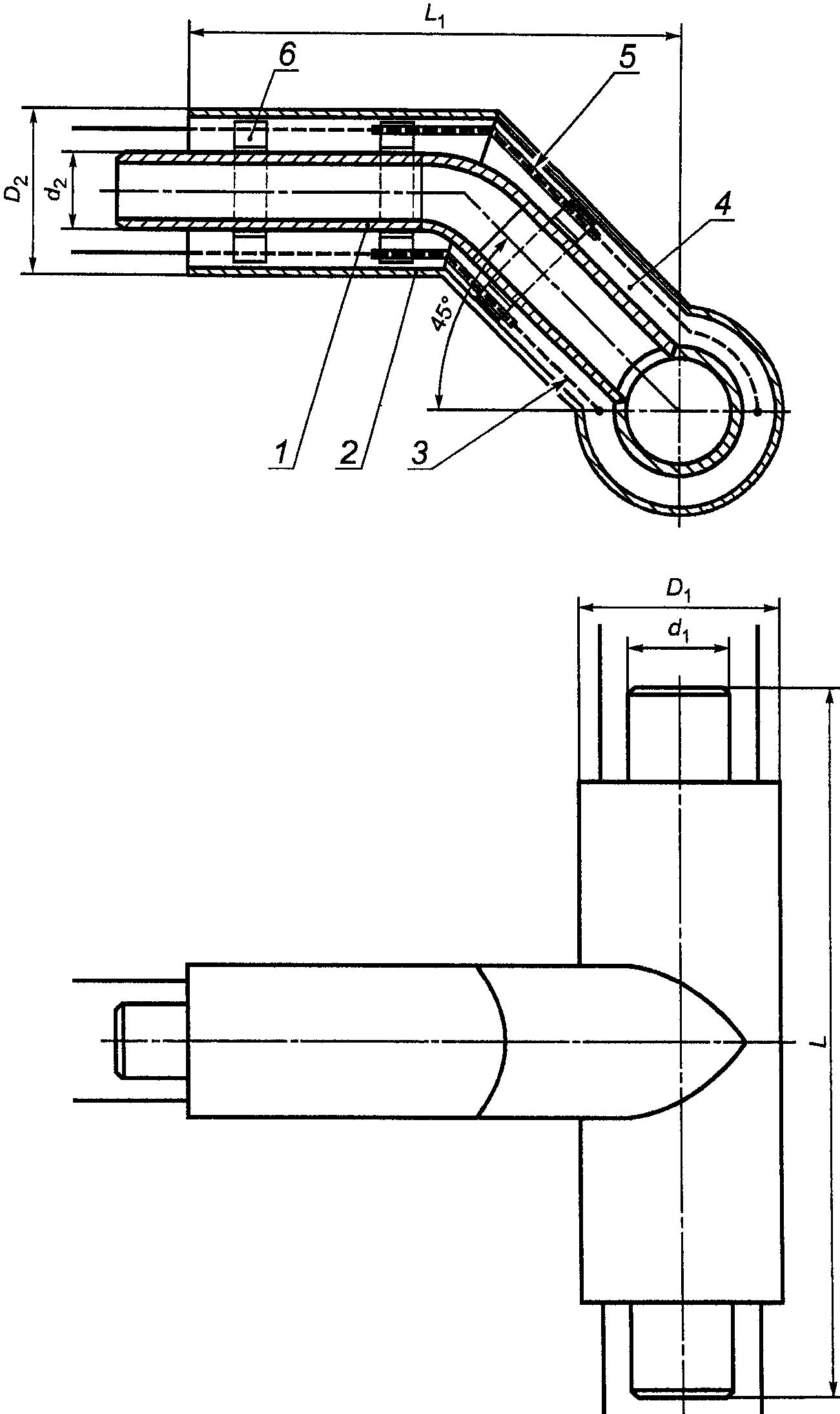 графическая схема системы одк