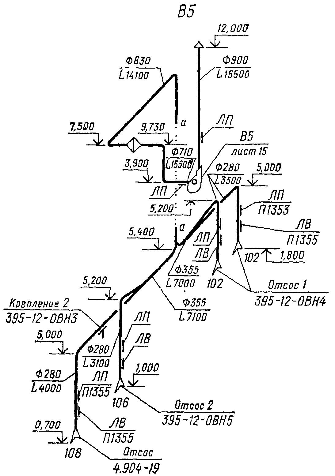 17. 3.2.8.В наименовании схемы системы отопления, для двух и более систем в здании,указывают номер системы.