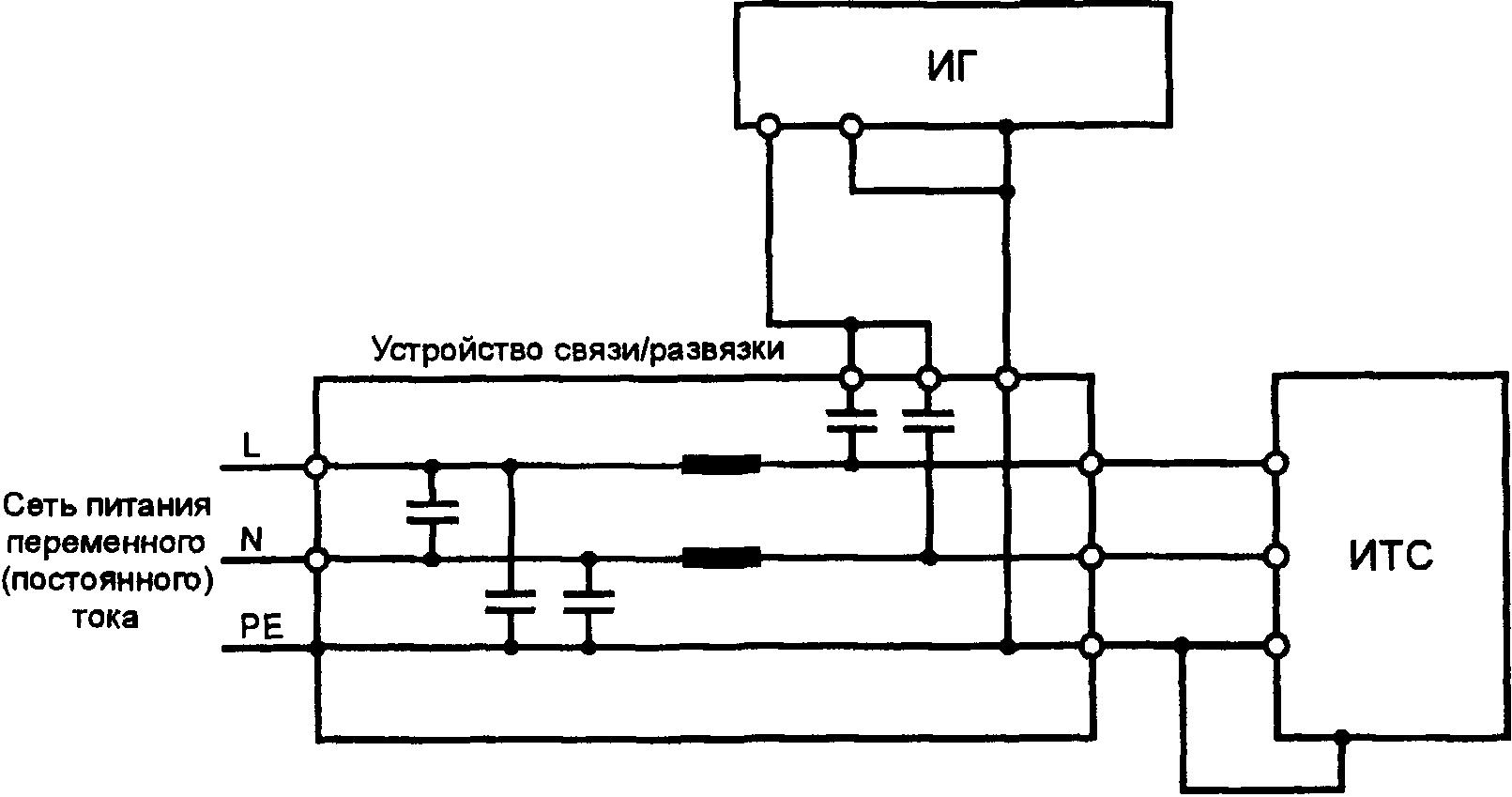 переменного тока (трехфазная электрическая сеть,подача.  Рисунок 8а.  Схема рабочего места с пластиной заземления...