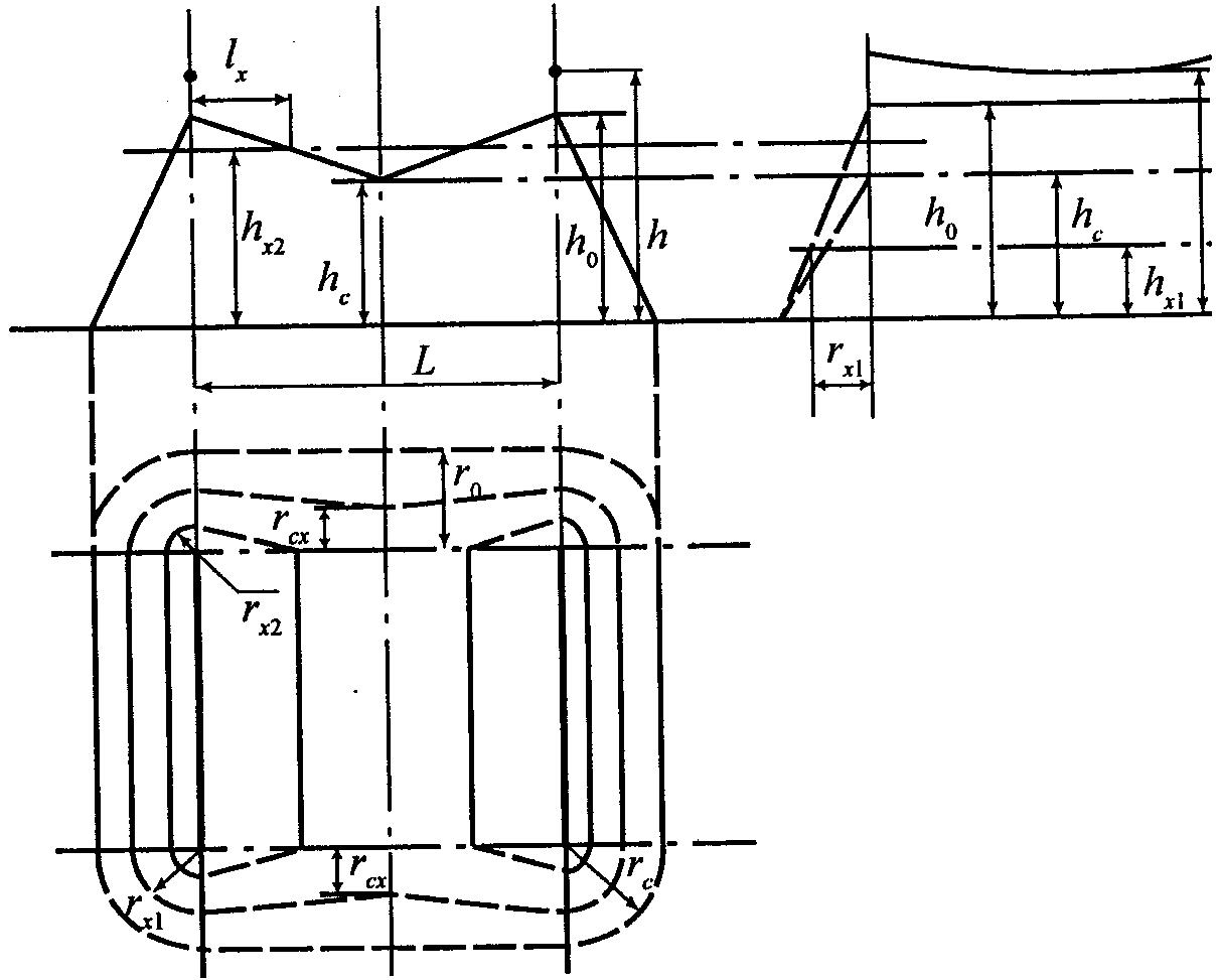 Схем вышивки зданий