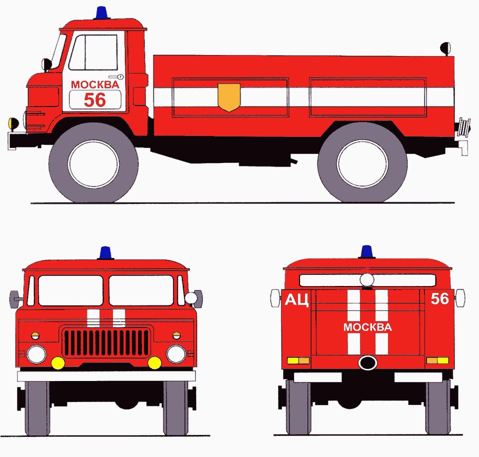 Рисунок а8 - цветографические схемы транспортных средств милиции и государственной инспекции безопасности дорожного