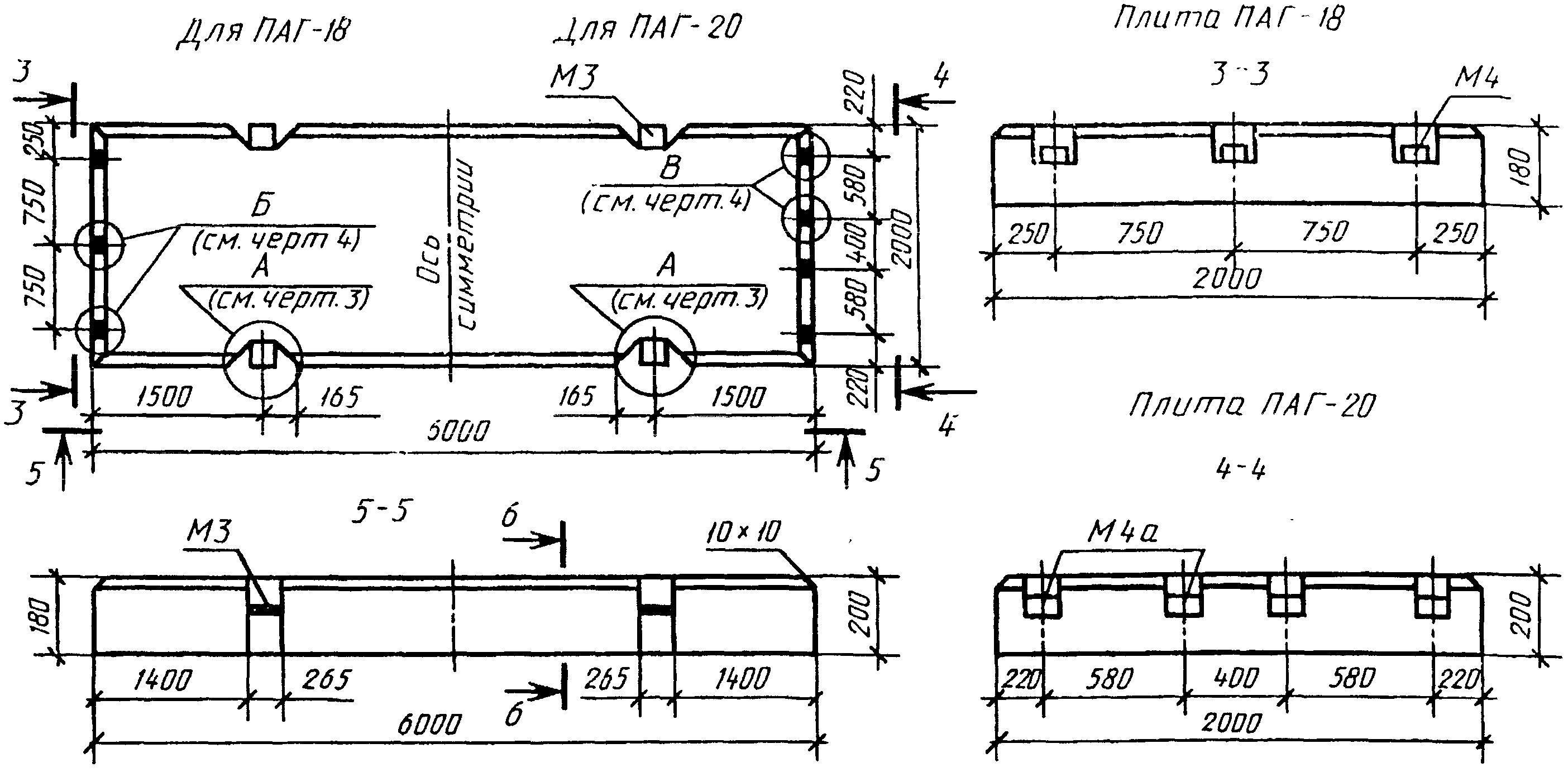 Аэродромная железобетонная плита примеры расчета железобетонных опор