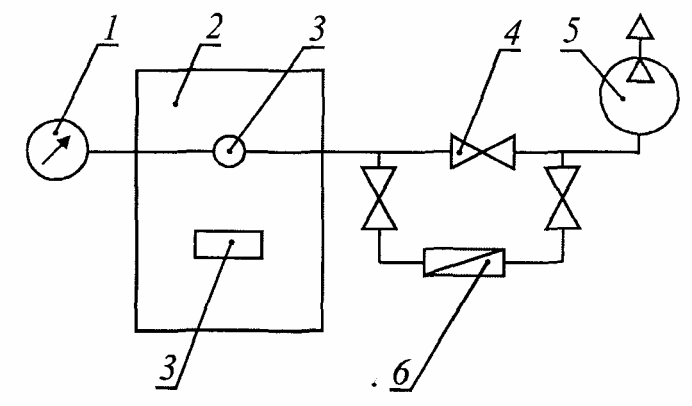 5 - вакуум-насос;