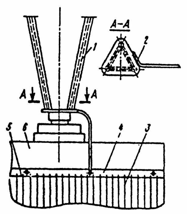 схема заземления антенны l- 022.09