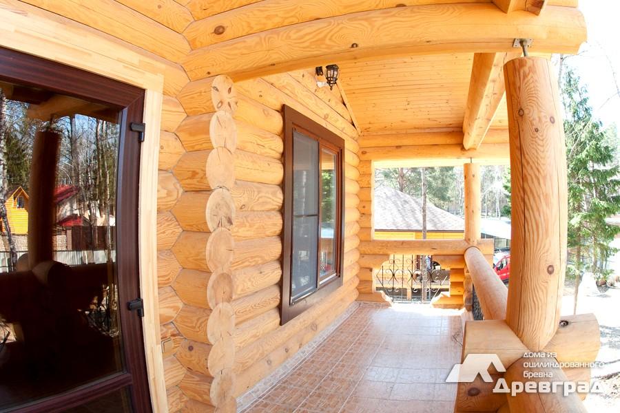 Оцилиндрованные деревянные дома неповторимые фотографии