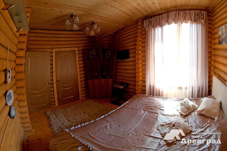 Дачные дома из оцилиндрованного бревна неповторимое фото