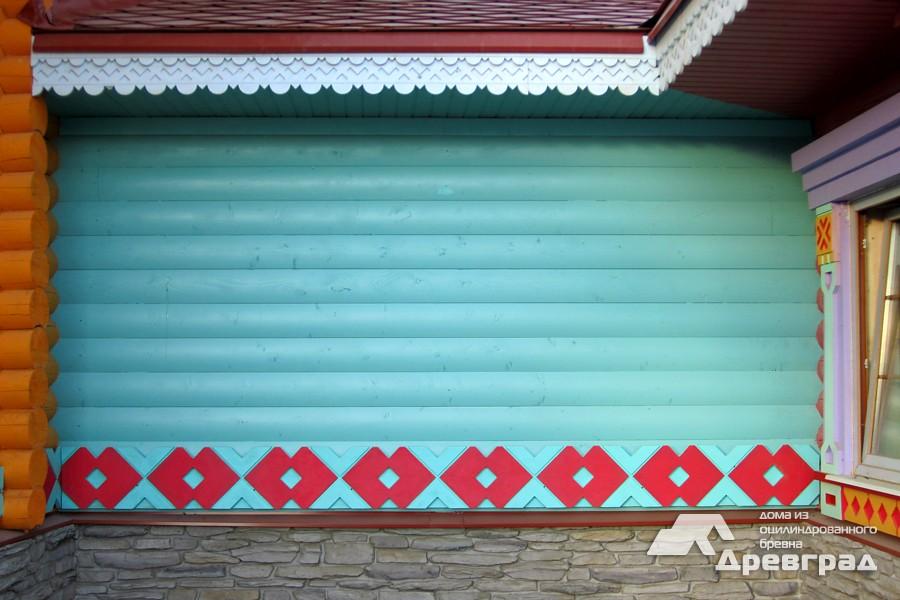 Оцилиндрованные деревянные дома фотографии