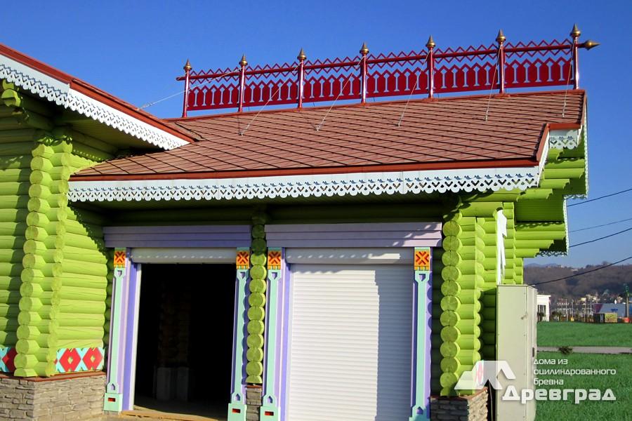 Дома из оцилиндрованного бревна интерьер фото