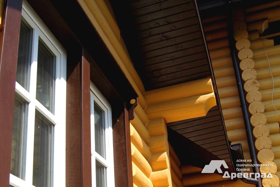 Фото домов из оцилиндрованного бревна за июнь 5