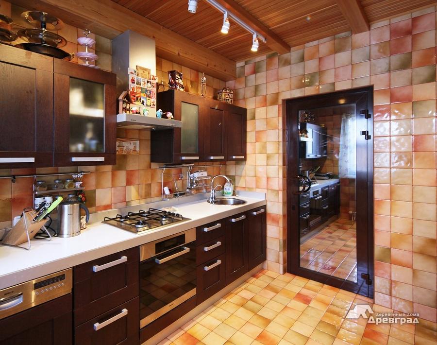 Красивые дома из оцилиндрованного