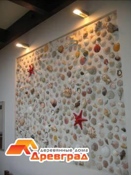 Дизайнерское декорирование стен интерьера