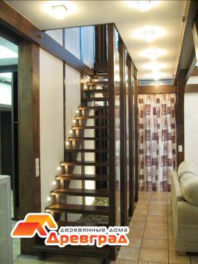 Проектирование конструкции лестницы