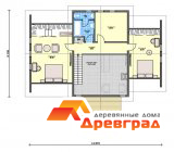 Дом «Нахабино» строительство по каркасной технологии