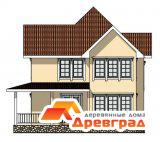 Каркасный деревянный дом «Наро-Фоминск»