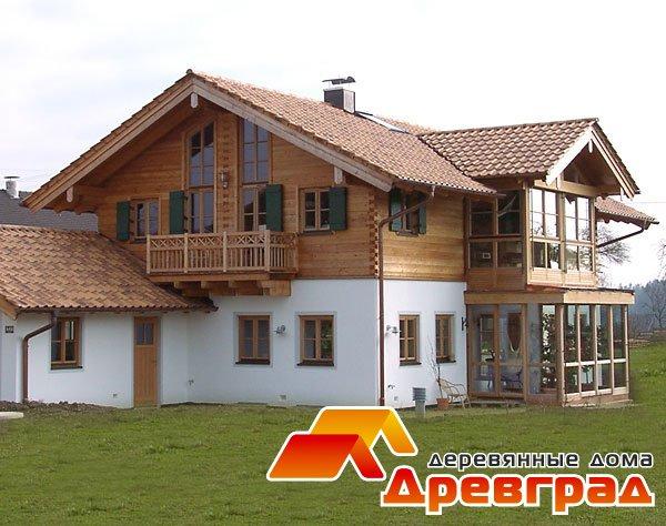 Дом из клееного бруса «Рундук-КБ»