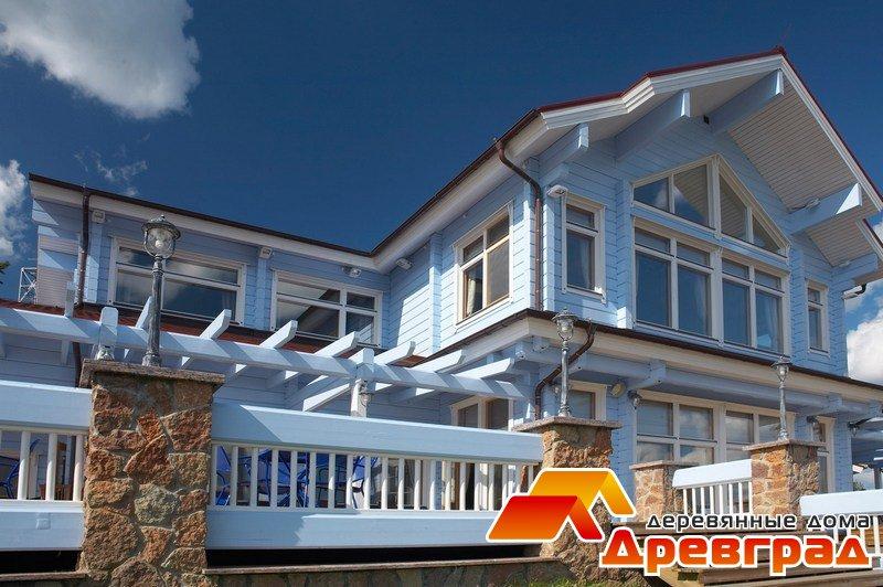 Дом из высококачественного клееного бруса «Руст»