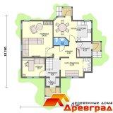 Каркасно-панельный дом «Аносино»