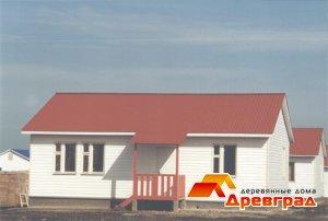 Использованные типы домов при строительстве поселка