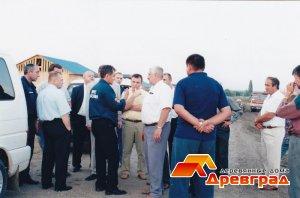 Инспекция этапов строительства поселка