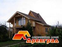 Деревянный дом после реконструкции