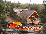Вид эксклюзивного деревянного дома
