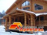 Элитный дом зимой