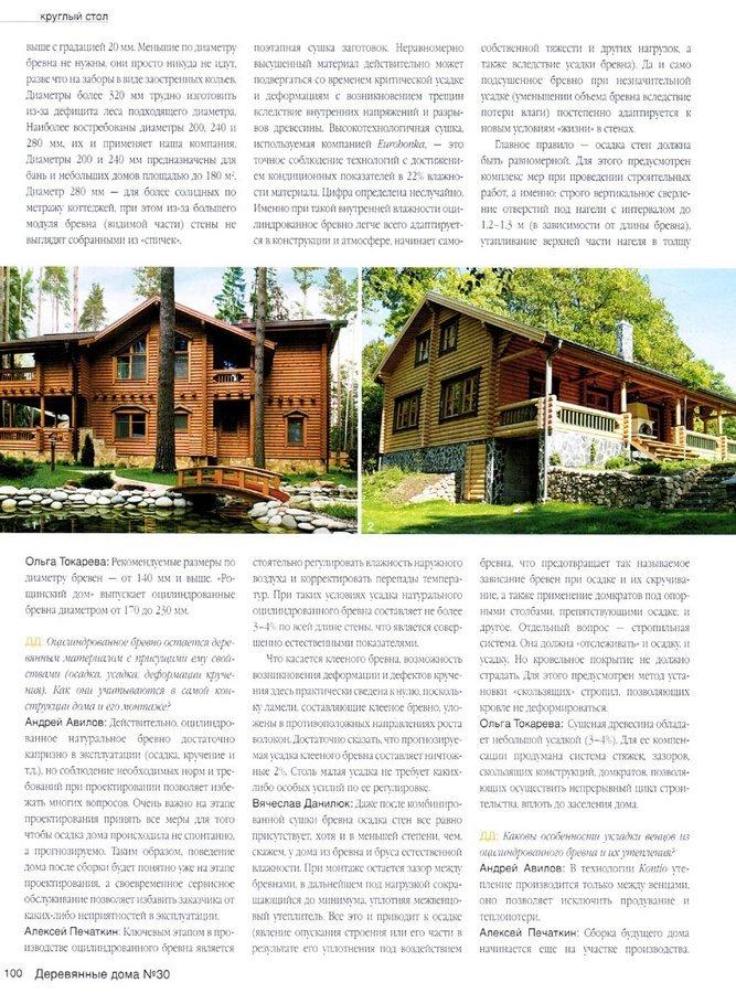 Деревянные дома 4(30)2009. Цилиндр вместо конуса