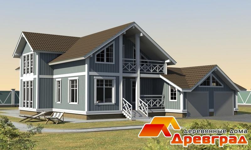 Каркасный дом «Алмазово» канадская