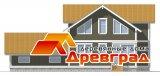 Деревянный каркасный дом «Алмазово»