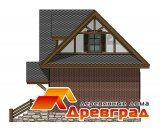 Деревянный дом «Поместье» каркасная технология