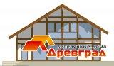 Деревянный дом фахверковая архитектура «Классический фахверк»