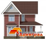 Дом из дерева «Сергиев Посад» - каркасно-панельная технология