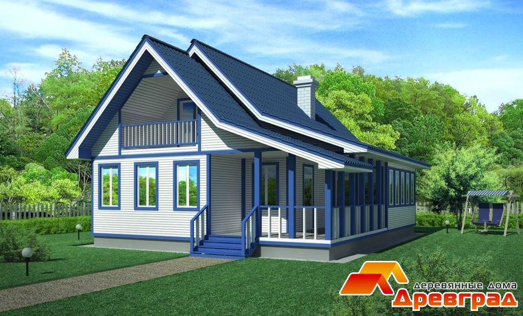 Деревянный дом внуково канадская