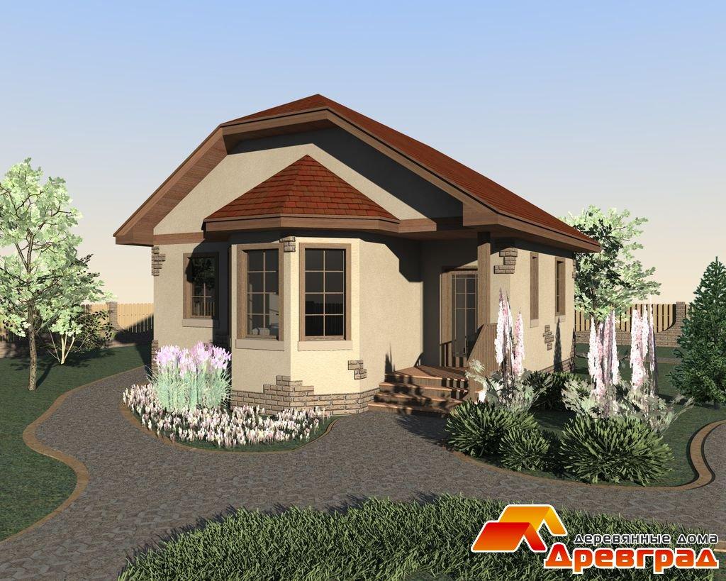 Дома   Деревянные дома - ДревГрад