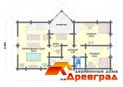 Строительство дома из калиброванного бревна Ивантеевка