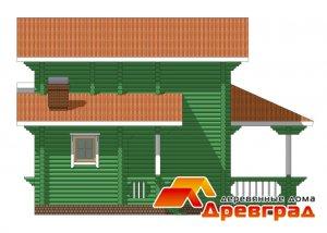 Дом из бревна под ключ Загорянка