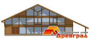 Деревянный фахверковый дом «Триплекс»