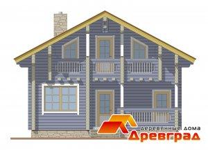Использование клееного бруса в доме Дрезна неповторимый дизайн деревянного дома