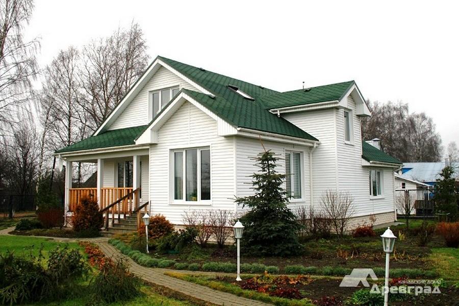 изготовление канадских домов фотографии