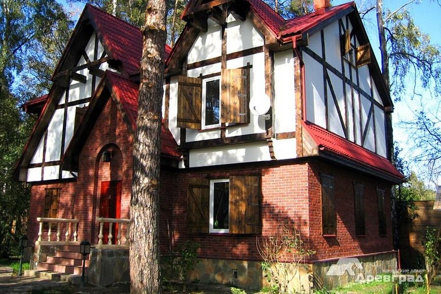 производство каркасных домов фотографии
