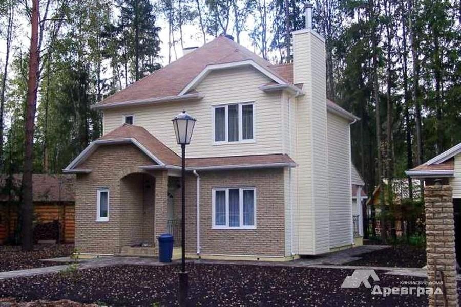 дома по каркасной технологии 6х8 красивое фото