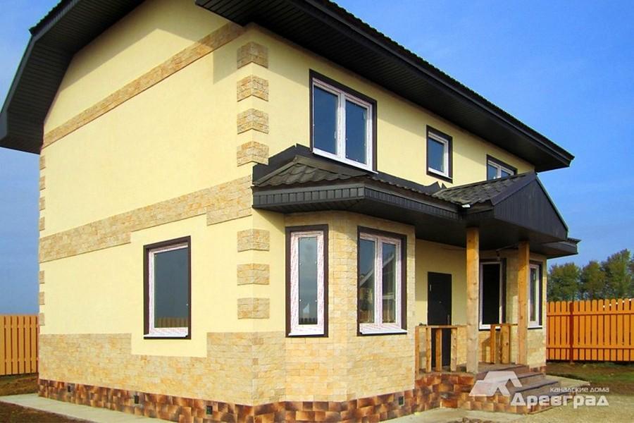 деревянные канадские дома фото