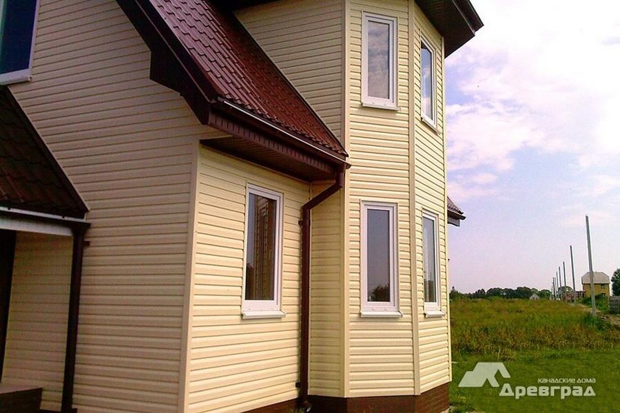 красивые дома из оцилиндрованного бревна фотографии