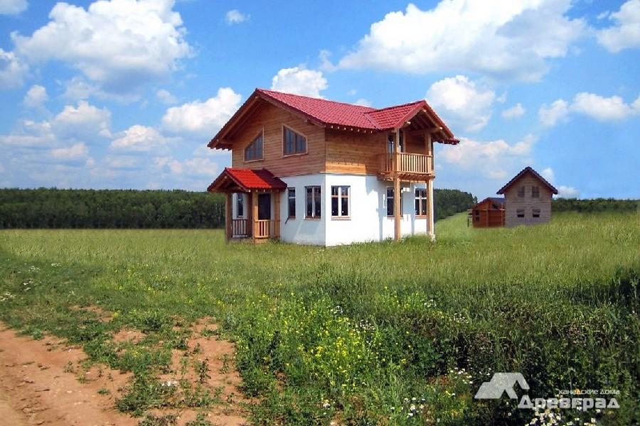 канадские дома фундамент фото